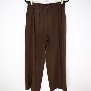 Uniqlo High Waist Paper Bag Trousers